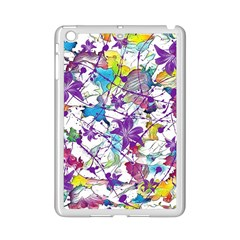 Lilac Lillys iPad Mini 2 Enamel Coated Cases