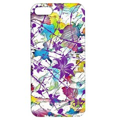 Lilac Lillys Apple Iphone 5 Hardshell Case With Stand