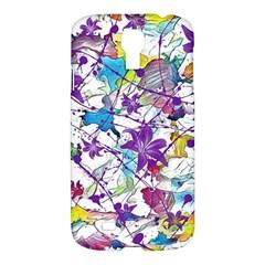 Lilac Lillys Samsung Galaxy S4 I9500/i9505 Hardshell Case