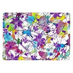 Lilac Lillys Samsung Galaxy Tab 10.1  P7500 Flip Case