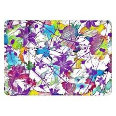 Lilac Lillys Samsung Galaxy Tab 8.9  P7300 Flip Case