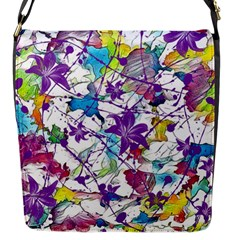 Lilac Lillys Flap Messenger Bag (S)