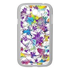 Lilac Lillys Samsung Galaxy Grand Duos I9082 Case (white)
