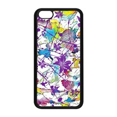 Lilac Lillys Apple iPhone 5C Seamless Case (Black)