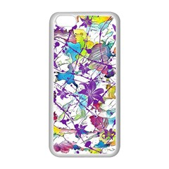 Lilac Lillys Apple iPhone 5C Seamless Case (White)