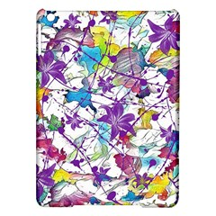 Lilac Lillys iPad Air Hardshell Cases