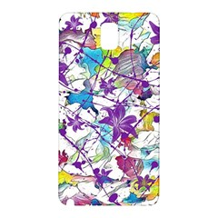 Lilac Lillys Samsung Galaxy Note 3 N9005 Hardshell Back Case