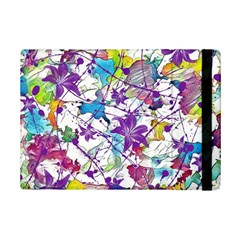 Lilac Lillys iPad Mini 2 Flip Cases