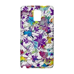 Lilac Lillys Samsung Galaxy Note 4 Hardshell Case