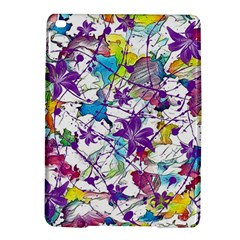 Lilac Lillys iPad Air 2 Hardshell Cases