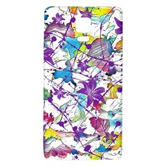 Lilac Lillys Galaxy Note 4 Back Case