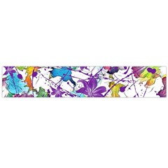 Lilac Lillys Flano Scarf (Large)