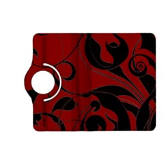 Floral pattern Kindle Fire HD (2013) Flip 360 Case