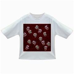 Funny Skull Rosebed Infant/toddler T Shirts