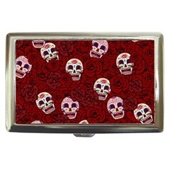 Funny Skull Rosebed Cigarette Money Cases