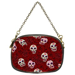Funny Skull Rosebed Chain Purses (Two Sides)