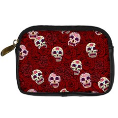 Funny Skull Rosebed Digital Camera Cases