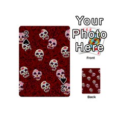 Funny Skull Rosebed Playing Cards 54 (Mini)