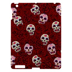 Funny Skull Rosebed Apple iPad 3/4 Hardshell Case