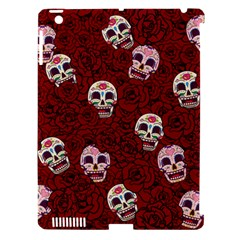 Funny Skull Rosebed Apple iPad 3/4 Hardshell Case (Compatible with Smart Cover)