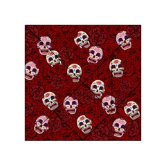 Funny Skull Rosebed Acrylic Tangram Puzzle (4  x 4 )