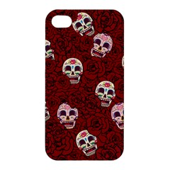 Funny Skull Rosebed Apple iPhone 4/4S Premium Hardshell Case