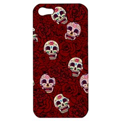 Funny Skull Rosebed Apple iPhone 5 Hardshell Case