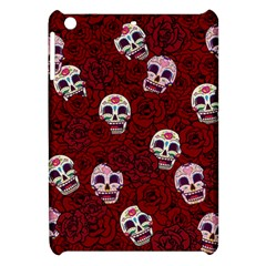Funny Skull Rosebed Apple iPad Mini Hardshell Case