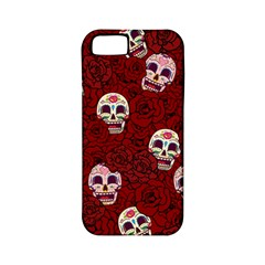 Funny Skull Rosebed Apple iPhone 5 Classic Hardshell Case (PC+Silicone)