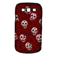 Funny Skull Rosebed Samsung Galaxy S III Classic Hardshell Case (PC+Silicone)