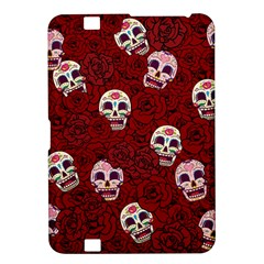 Funny Skull Rosebed Kindle Fire HD 8.9