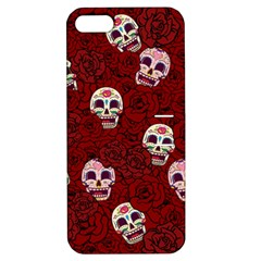 Funny Skull Rosebed Apple iPhone 5 Hardshell Case with Stand