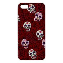 Funny Skull Rosebed Apple iPhone 5 Premium Hardshell Case