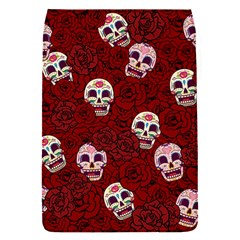 Funny Skull Rosebed Flap Covers (S)