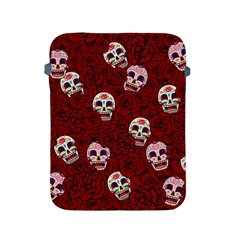 Funny Skull Rosebed Apple iPad 2/3/4 Protective Soft Cases