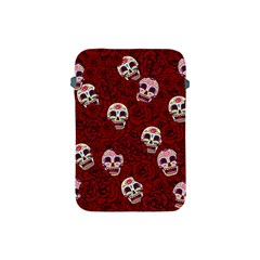 Funny Skull Rosebed Apple iPad Mini Protective Soft Cases