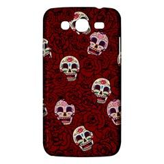 Funny Skull Rosebed Samsung Galaxy Mega 5.8 I9152 Hardshell Case