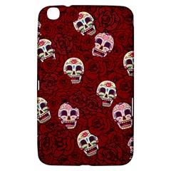 Funny Skull Rosebed Samsung Galaxy Tab 3 (8 ) T3100 Hardshell Case