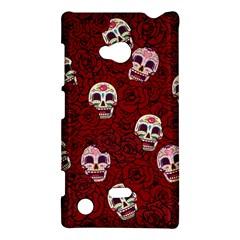 Funny Skull Rosebed Nokia Lumia 720