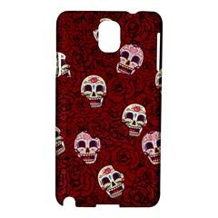 Funny Skull Rosebed Samsung Galaxy Note 3 N9005 Hardshell Case