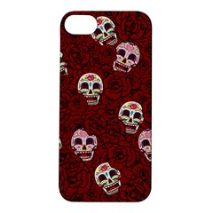 Funny Skull Rosebed Apple iPhone 5S/ SE Hardshell Case