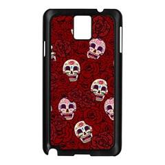 Funny Skull Rosebed Samsung Galaxy Note 3 N9005 Case (Black)