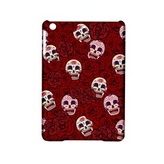 Funny Skull Rosebed iPad Mini 2 Hardshell Cases