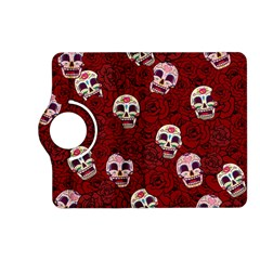Funny Skull Rosebed Kindle Fire HD (2013) Flip 360 Case