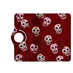 Funny Skull Rosebed Kindle Fire HDX 8.9  Flip 360 Case