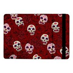 Funny Skull Rosebed Samsung Galaxy Tab Pro 10.1  Flip Case