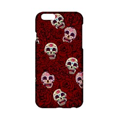 Funny Skull Rosebed Apple iPhone 6/6S Hardshell Case
