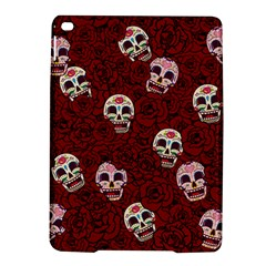 Funny Skull Rosebed Ipad Air 2 Hardshell Cases