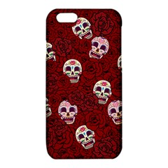 Funny Skull Rosebed iPhone 6/6S TPU Case