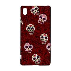 Funny Skull Rosebed Sony Xperia Z3+